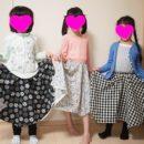 子供手芸教室 2年生 サーキュラースカートのレッスン
